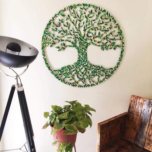 Árbol de la Vida Trilogía de hojas